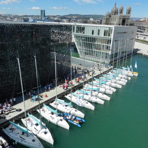 La flotte Team Winds au MuCEM à Marseille