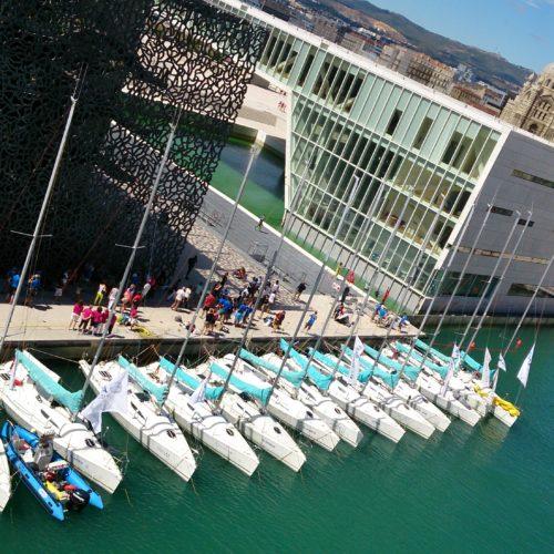 Flotte Team Winds - régate participative - régate d'entreprise - teambuilding - séminaire voile Marseille Bretagne La Rochelle La Trinité-sur-mer