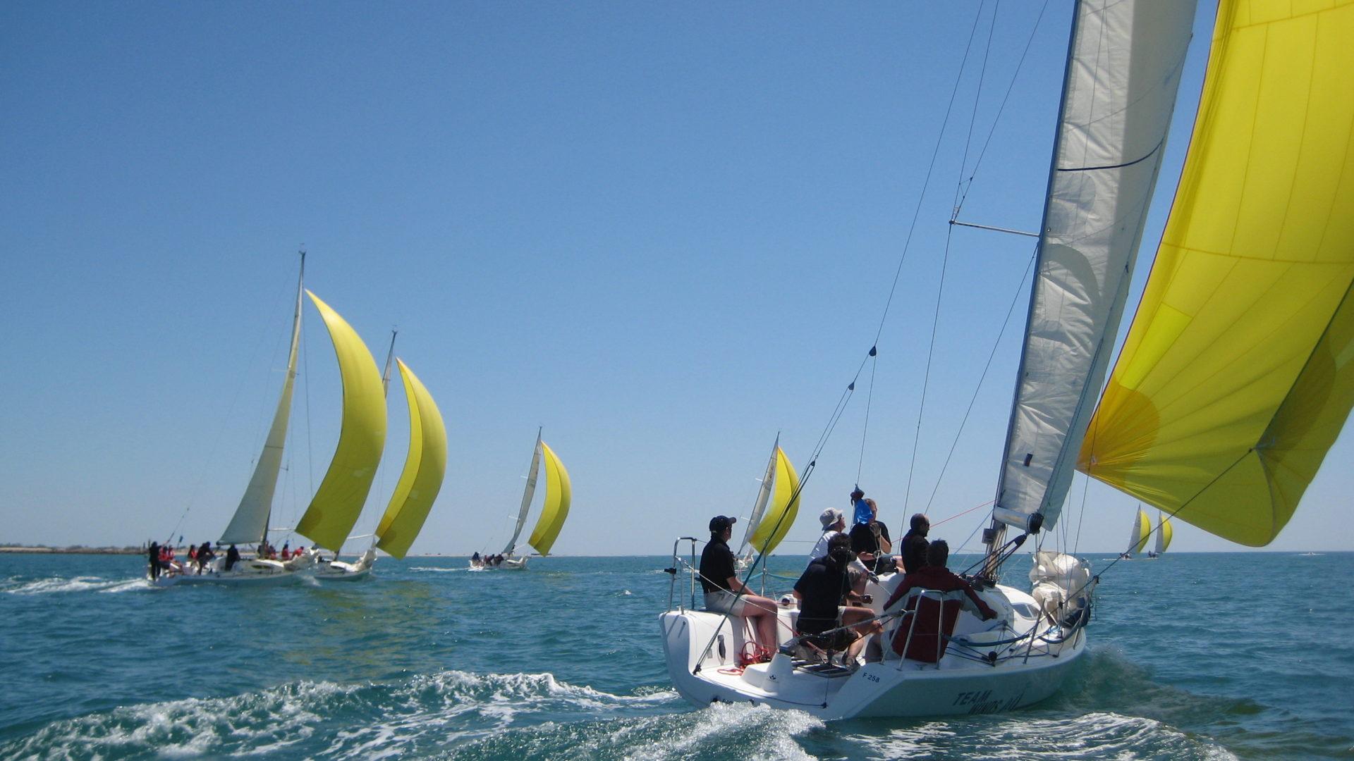 Flotte Team Winds - régate participative