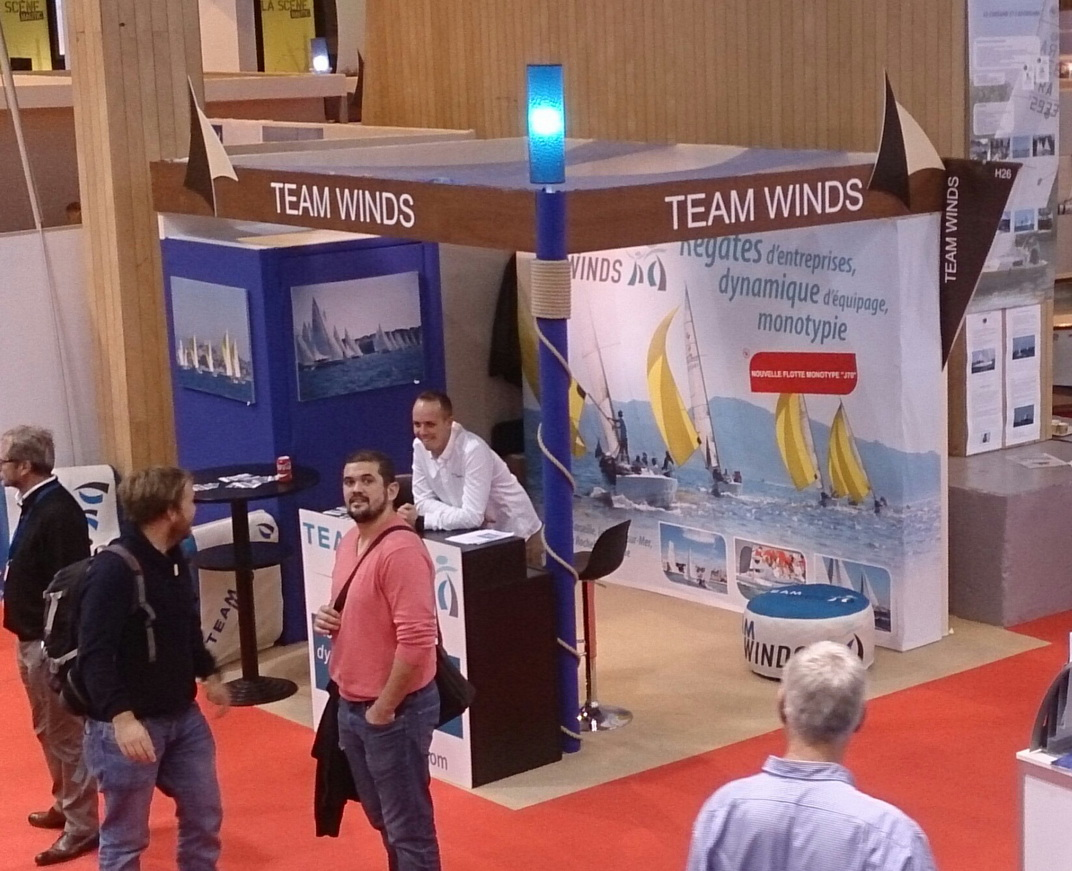 Rencontrez Team Winds au Salon Nautic