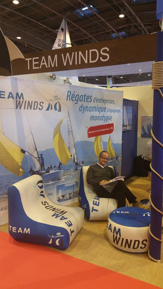 Rdv avec Team Winds au Salon Nautic
