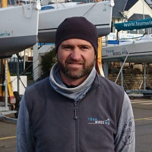 François le rouzic - technicien Team Winds