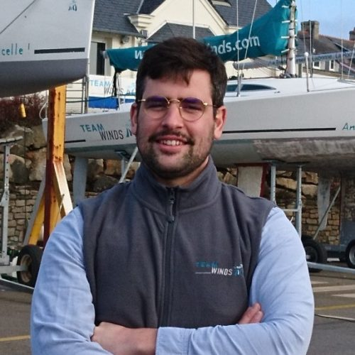 Simon du Sartel - responsable de site Team Winds La Trinité sur mer