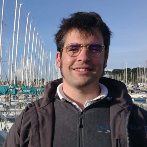 Simon du Sartel - responsable de site Team Winds Atlantique