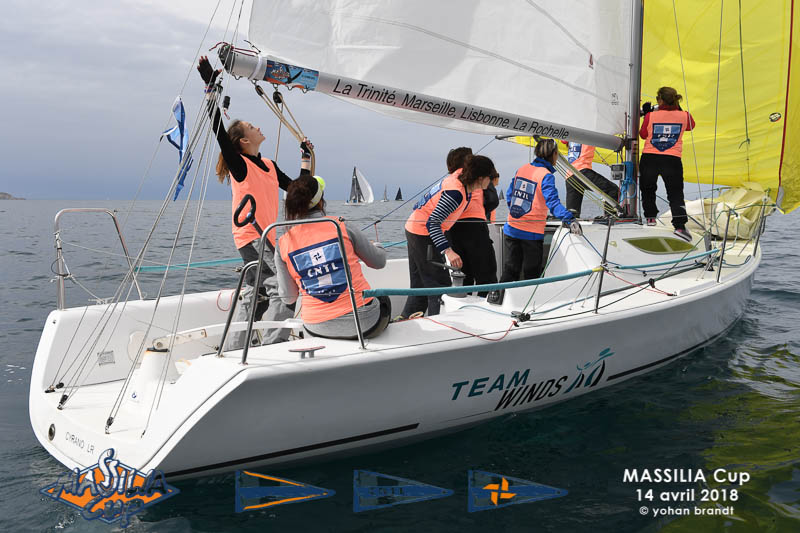Massilia Cup en Grand Surprise Team Winds - location de monotypes de régate Marseille (1)