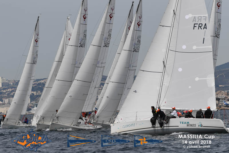 Massilia Cup en Grand Surprise Team Winds - location de monotypes de régate Marseille (2)
