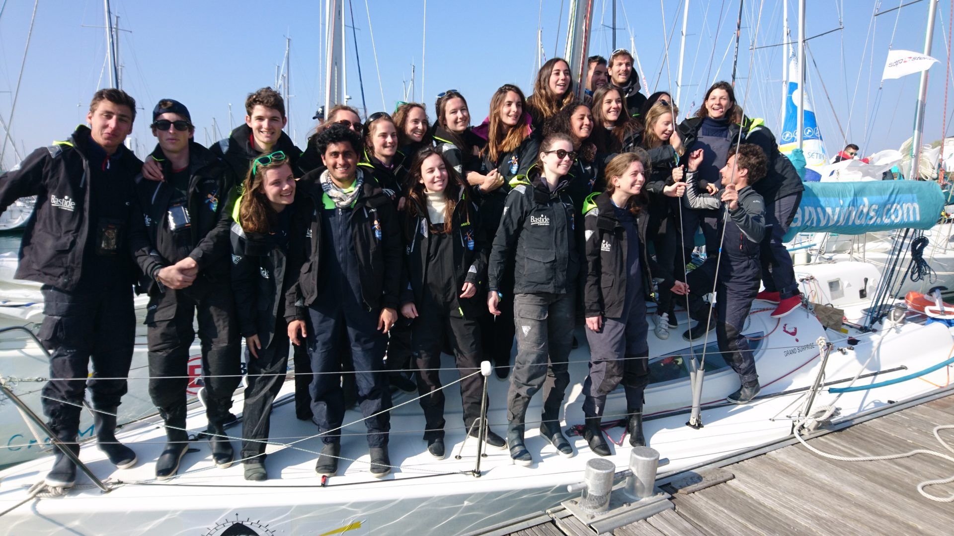 Equipages Mixtes à la CCEDHEC - Team Winds 2019