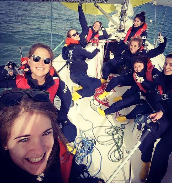 Les Bottes Jaunes - équipage 100% féminin de l'ESSEC 2
